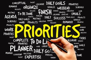 Manage Competing Priorities!