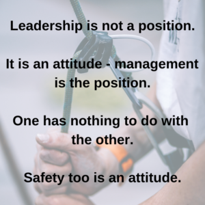 7 Reasons Why Safety Is The New Leadership