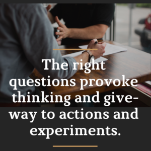 As Curious Leaders, What Are The Right The Questions to Ask