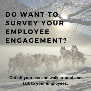 3 Cures For Employee Engagement Survey Fear Syndrome – A syndrome that causes body orifices to pucker as you await the results